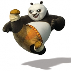 Kung Fu Panda 7 decal sticker