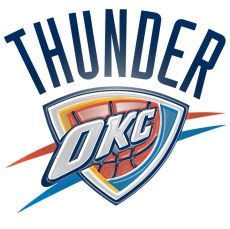 oklahoma city thunder 2009-pres primary plastic effect logo iron on transfer