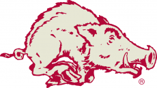 Arkansas Razorbacks 1964-1972 Alternate Logo 0 02 iron on transfer