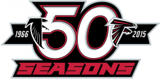 Atlanta Falcons 2015 Anniversary Logo decal sticker
