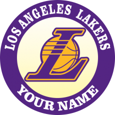 Los Angeles Lakers iron on transfer