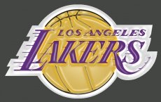 los angeles lakers 2002-pres primary logo plastic effect logo iron on transfer