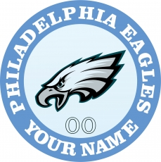 Philadelphia Eagles iron on transfer