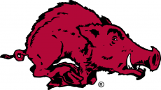 Arkansas Razorbacks 1955-1963 Primary Logo iron on transfer