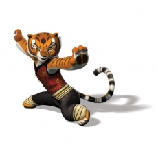 Kung Fu Panda's Tigress 1 decal sticker