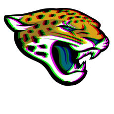 Phantom Jacksonville Jaguars logo decal sticker