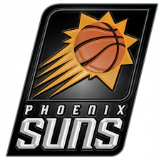 phoenix suns 2014-pres primary plastic effect logo decal sticker
