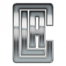 Los Angeles Clippers silver logo iron on transfer