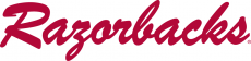 Arkansas Razorbacks 1964-2000 Wordmark Logo iron on transfer