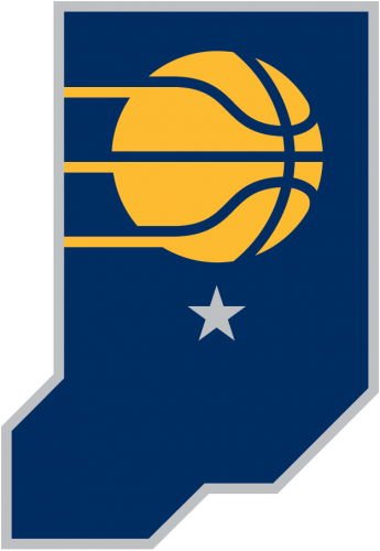Indiana Pacers 2018-Pres Alternate Logo decal sticker