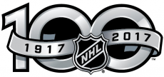 National Hockey League 2016 Anniversary decal sticker