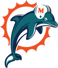 Miami Dolphins 1997-2012 Primary Logo decal sticker