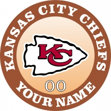 Kansas City Chiefs iron on transfer