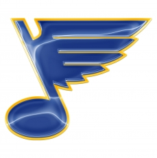 st. louis blues crystal logo iron on stickers