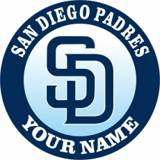 SAN DIEGO PADRES decal sticker