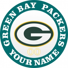 Green Bay Packers iron on transfer