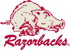 Arkansas Razorbacks 1964-1972 Alternate Logo iron on transfer
