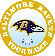 Baltimore Ravens iron on transfer