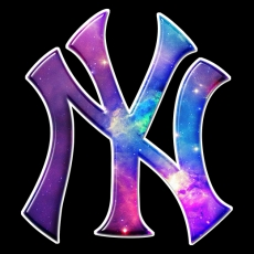 galaxy new york yankees decal stickers
