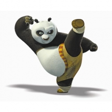 Kung Fu Panda 2 decal sticker