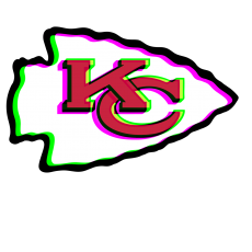 Phantom Kansas City Chiefs logo decal sticker