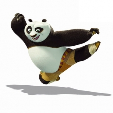 Kung Fu Panda 1 decal sticker