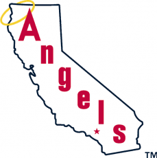 Los Angeles Angels 1973-1985 Primary Logo iron on transfer