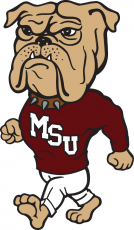 Mississippi State Bulldogs 1986-2008 Mascot Logo iron on transfer