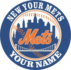 NEW YOUR METS decal sticker