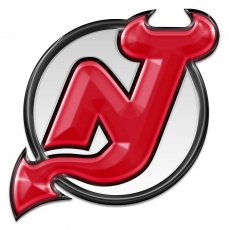 new jersey devils crystal logo iron on stickers