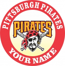 PITTSBURGH PIRATES decal sticker