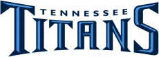 Tennessee Titans 1999-2017 Wordmark Logo 05 decal sticker