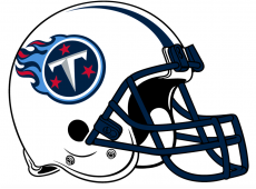 Tennessee Titans 1999-2017 Helmet decal sticker
