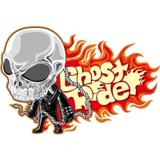 Ghost Rider DIY decals stickers