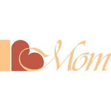 I love MOM DIY decals stickers version 1