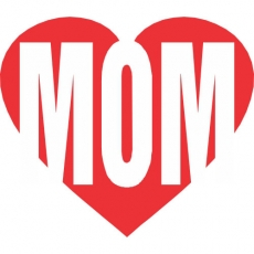 I love MOM DIY decals stickers version 2