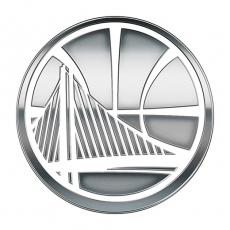 Golden State Warriors silver logo iron on transfer
