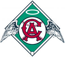 Los Angeles Angels 1965-1970 Primary Logo decal sticker