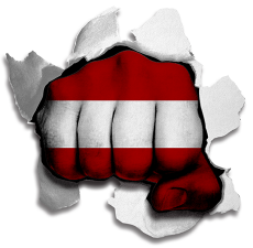hulk LATVIA Flag iron on transfer