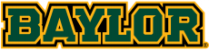Baylor Bears 2005-2018 Wordmark Logo 02 decal sticker