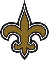 New Orleans Saints 2000-2001 Primary Logo decal sticker