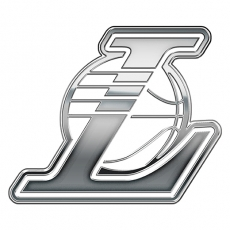 Los Angeles Lakers silver logo iron on transfer