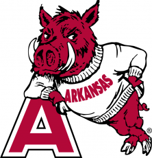Arkansas Razorbacks 1955-1973 Secondary Logo iron on transfer