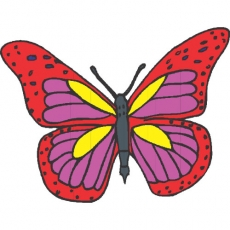 Butterfly Decals Stickers