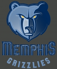 memphis grizzlies 2004-pres primary logo plastic effect logo iron on transfer