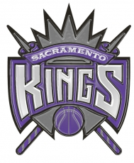 sacramento kings 1995-pres primary plastic effect logo decal sticker
